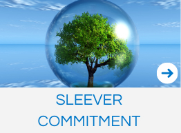 Sleever commitment in favor of sustainability